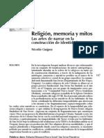 Guigou, L. Nicolás. Religión, memoria y mitos