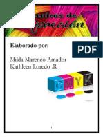 Revista Tecnicas de Impresion-kathleen y Milda