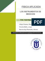 Los Instrumentos de Medicion