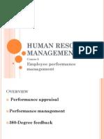 Managementul performantei angajatilor