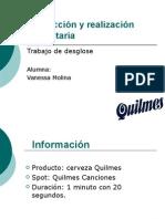 Desglose Canciones Quilmes