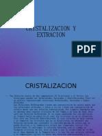 CRISTALIZACION Y