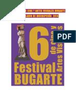 Festival de Cine y Artes Visuales Bugarte Formulario 2014