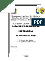 GUIA DE HISTOLOGIA - ODONTOLOGIA 2012 - II SEMESTRE.doc