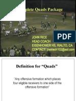 John Rice Quads Package