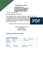 Indicação n 0170-2015