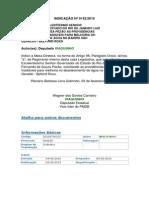 Indicação n 0152-2015