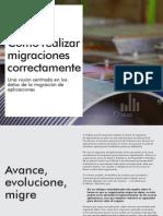 Como Realizar Migraciones adecuadamente