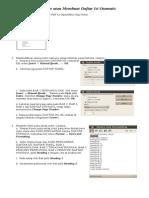 Tutorial Reference Membuat Daftar Isi Otomatis