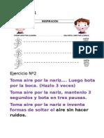 Rincon de Relajación para niños  con pictogramas