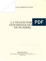 Ferrer Santos, Urbano - La Trayectoria Fenomenológica de Husserl [Pp. 21-54]