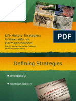 Life History Strategy Separate Sexes Final