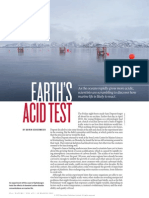 Earth's Acid Test