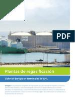 Folleto Plantas de Regasificación de Enagás