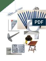Dibujo de Instrumentos Para Dibujo Tecnico.