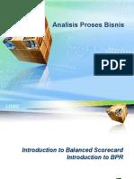 Analisa Proses Bisnis - Balance Score Card & BPR