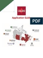 CALDO Application Guide V5