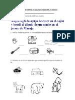 PRUEBA INFORMAL DE LECTO 1º.doc