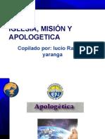 Iglesia, Apologetica y Misión