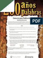 200 AÑOS 200 PALABRAS