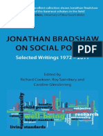 Jonathan Bradshaw on Social Policy