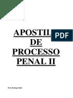 Apostila de P. Penal II