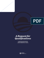 Obama Foundation Architect Selection RFQ