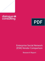 Report Enterprise Social Networking Platform Vendor Comparison