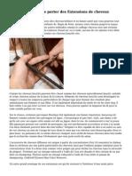 3 bonnes raisons de porter des Extensions de cheveux