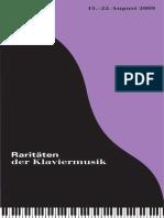 Programm 2009