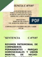 Diapositiva de Sentencia C-075
