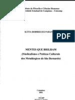 Mentes Que Brilham - Katia Paranhos