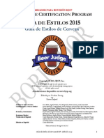 Guía de Estilos de Cerveza BJCP 2015 en Español Borrador