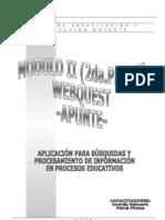 Modulo II - Apunte 2da.parte - Webquest