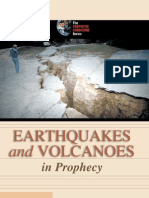 Earthquakes and Volcanoes in Prophecy