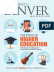 University of Denver Magazine fall 2015 issue