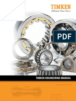 Timken Bearing Engineering Manual