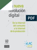 La nueva #revolución #digital. De la #Internet del consumo a la internet de la #producción
