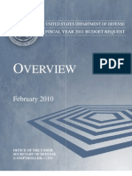 FY2011 DoD Budget Request