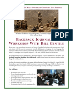 Backpack Journalism Workshop with Bill Gentile