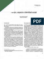 01 Carlos Aguado José - Tiempo Espacio e Identidad Social