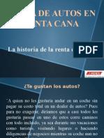 HISTORIA DE LA RENTA DE AUTOS