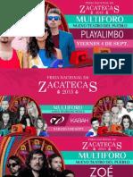 Programa Teatro del Pueblo Fenaza 2015