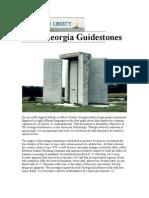The Georgia Guide Stones