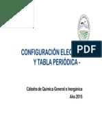 2015 Configuración Electrónica y Tabla Periódica - [Modo de Compatibilidad]