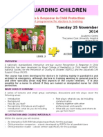 Child Protection Flyer November 2014
