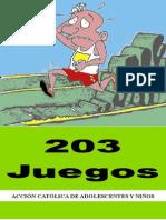 ACAN - 203 Juegos - Arquidiócesis de México