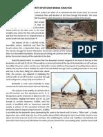 North Spur Dam Break Analysis by James l. Gordon