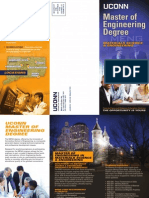 MENG Materials Science & Engineering Trifold