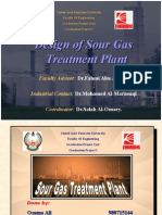Design of Sour Gas Treatment Plant